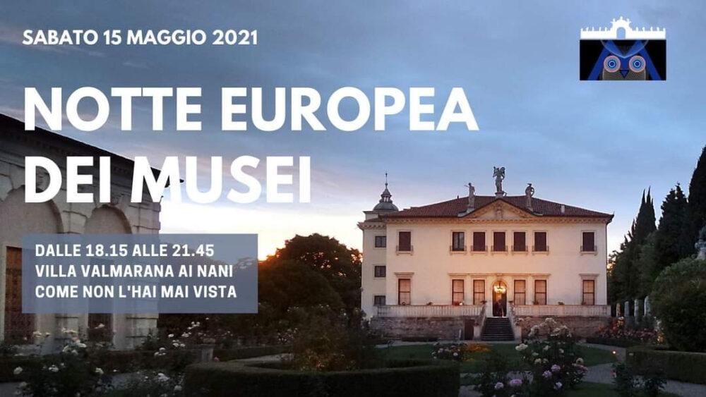 Villa Vamarana ai nani Notte Europea dei Musei