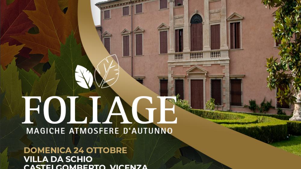 Foliage, Villa da Schio,ottobre