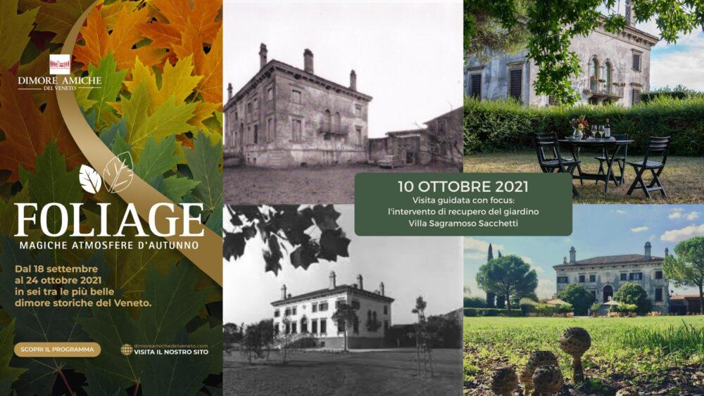 Villa Sagramoso, giardino, 10 ottobre